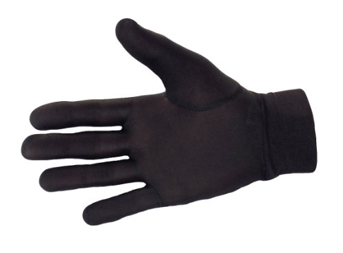 100% Pure Silk Thermal Liner Gloves Inner for Bikers, Skiers, Dog Walkers, Cyclists, Fishermen, Gardeners and all Outdoor Activities. Can also be used with a smart phone.