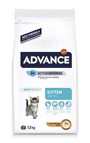 Advance Kitten - Pienso para Gatitos - 1.5 kg