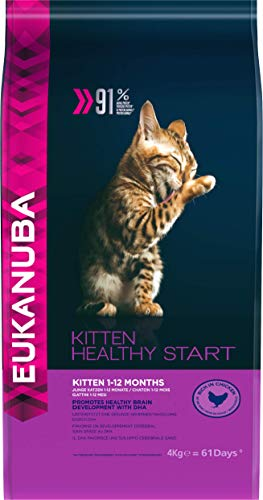Eukanuba Healthy Start Gatito Rico en pollo [4 Kg]
