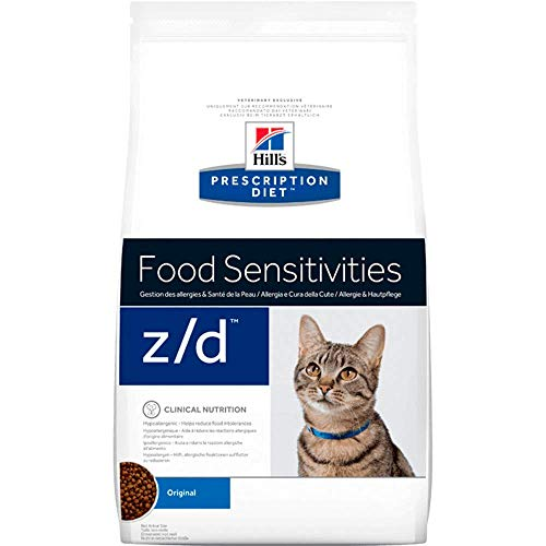 Hill 's Prescription Diet z/d Bajo Alergen Feline Dry Cat Food 2kg