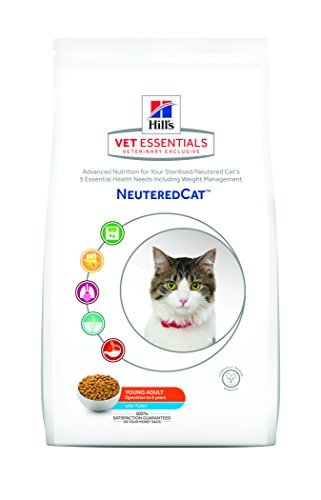 hill' S VetEssentials Neutered Cat Young Adult Thon 1.5kg