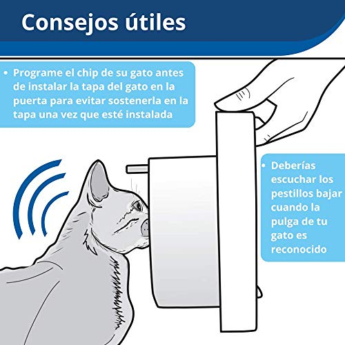 Petsafe Cat Flap Puerta para Gatos con Microchip